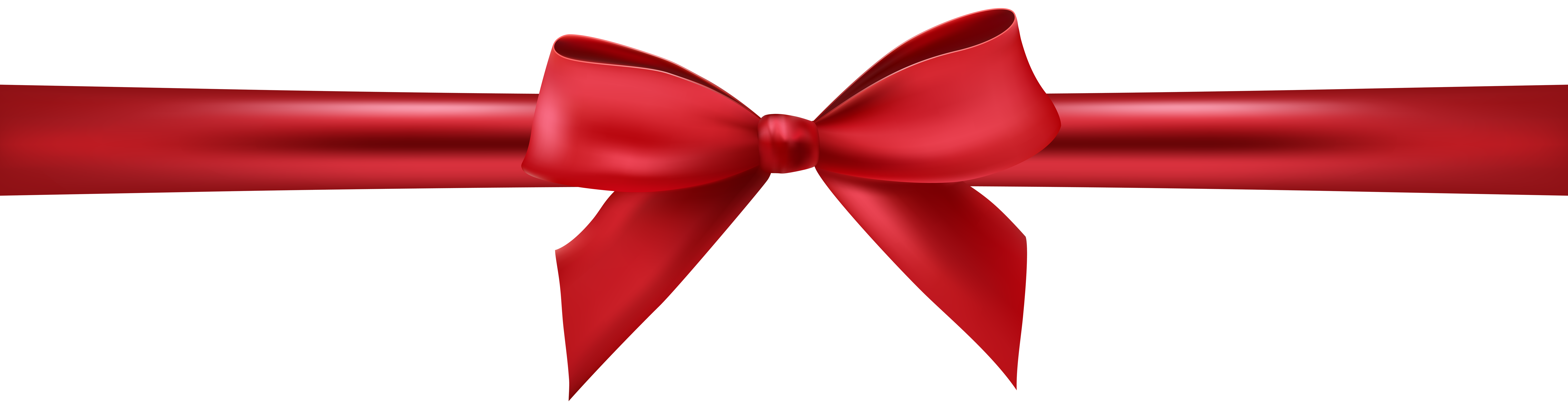 graphic black and white stock Red bow with ribbon. Bows clipart knot