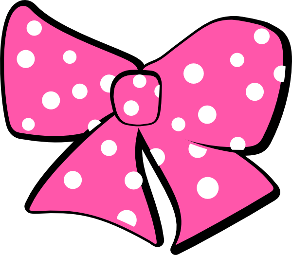 clipart library library Minnie mouse bow clip. Bows clipart minie