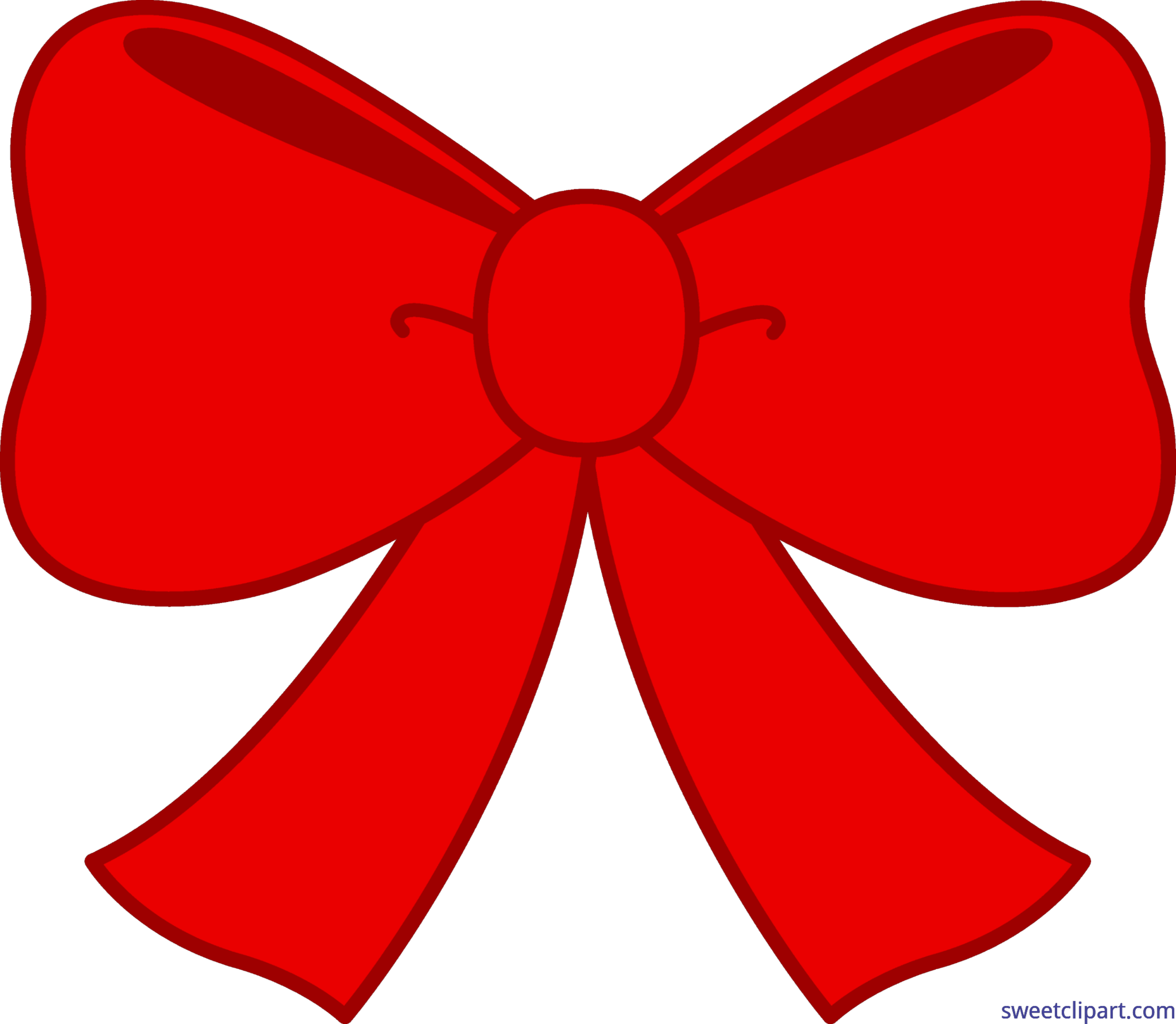 stock Bows clipart object. Cute red bow clip