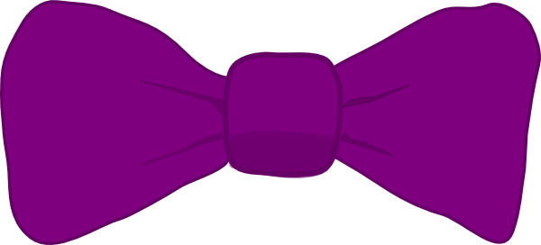 svg black and white Purple clip art at. Bowtie clipart bow tie.
