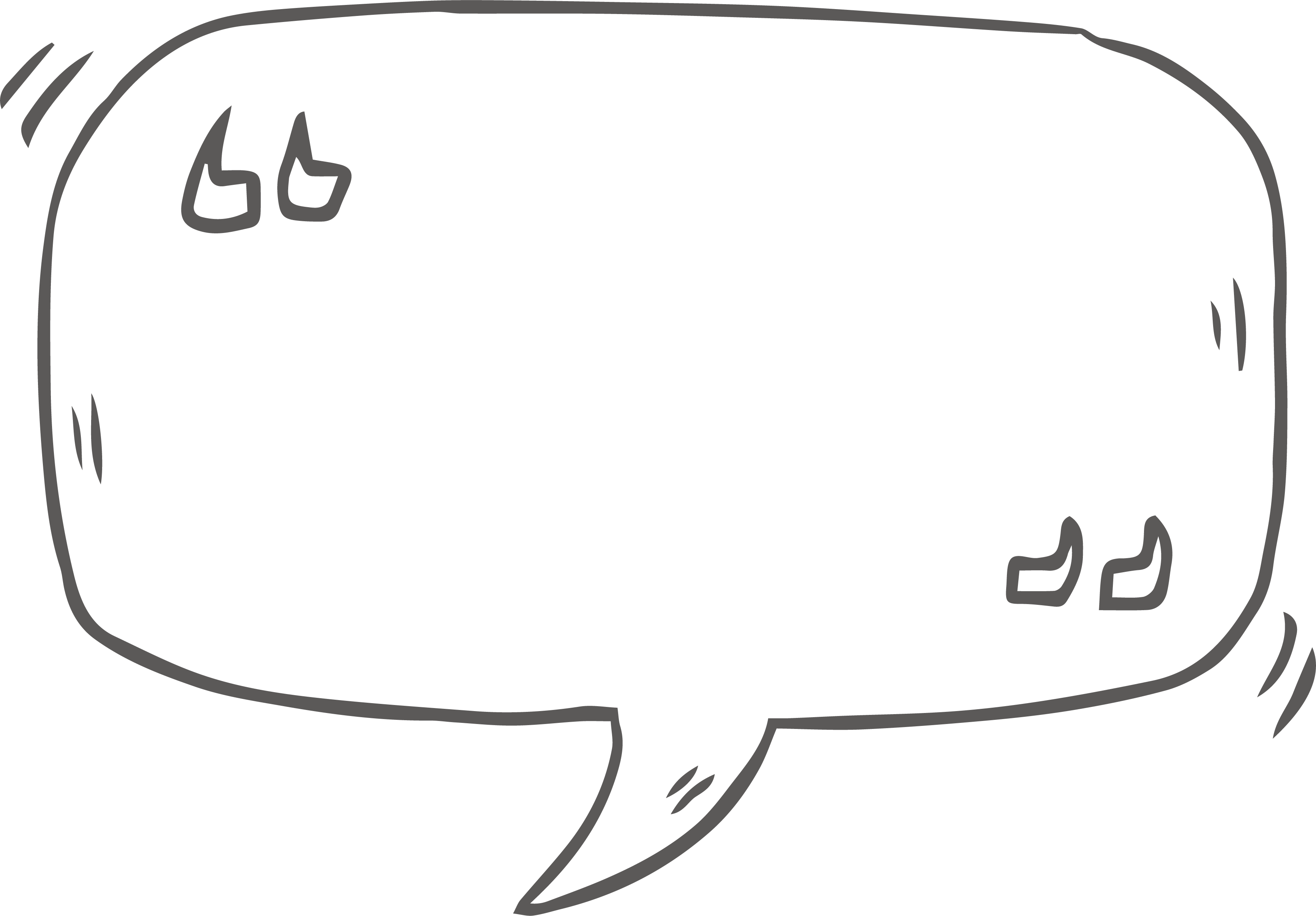png free library Vector bubble speech mark. Dialog box text quotation