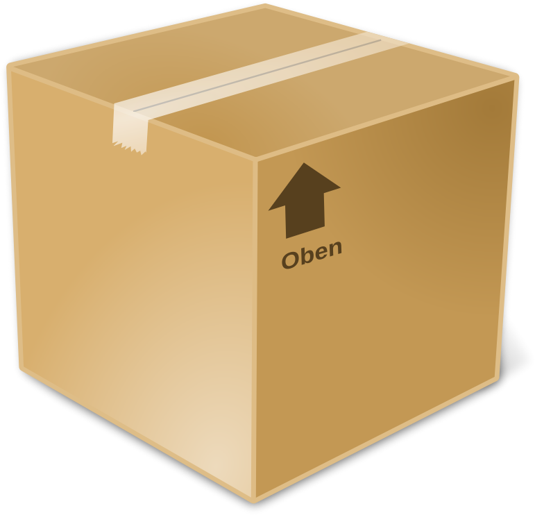 svg freeuse library Closed . Box clipart