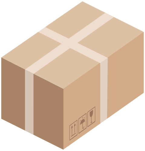 clip transparent stock Box clipart. Cardboard png clip art.