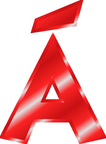 svg transparent library Box clipart alphabet. Effect letters red clip.
