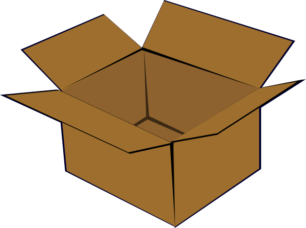 picture free stock Cardboard Box Clip Art at Clker