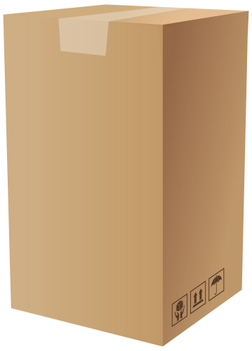 picture free Box clipart carton box. Png clip art best