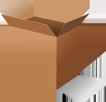 vector library Master corrugated packing vividh. Box clipart carton box.