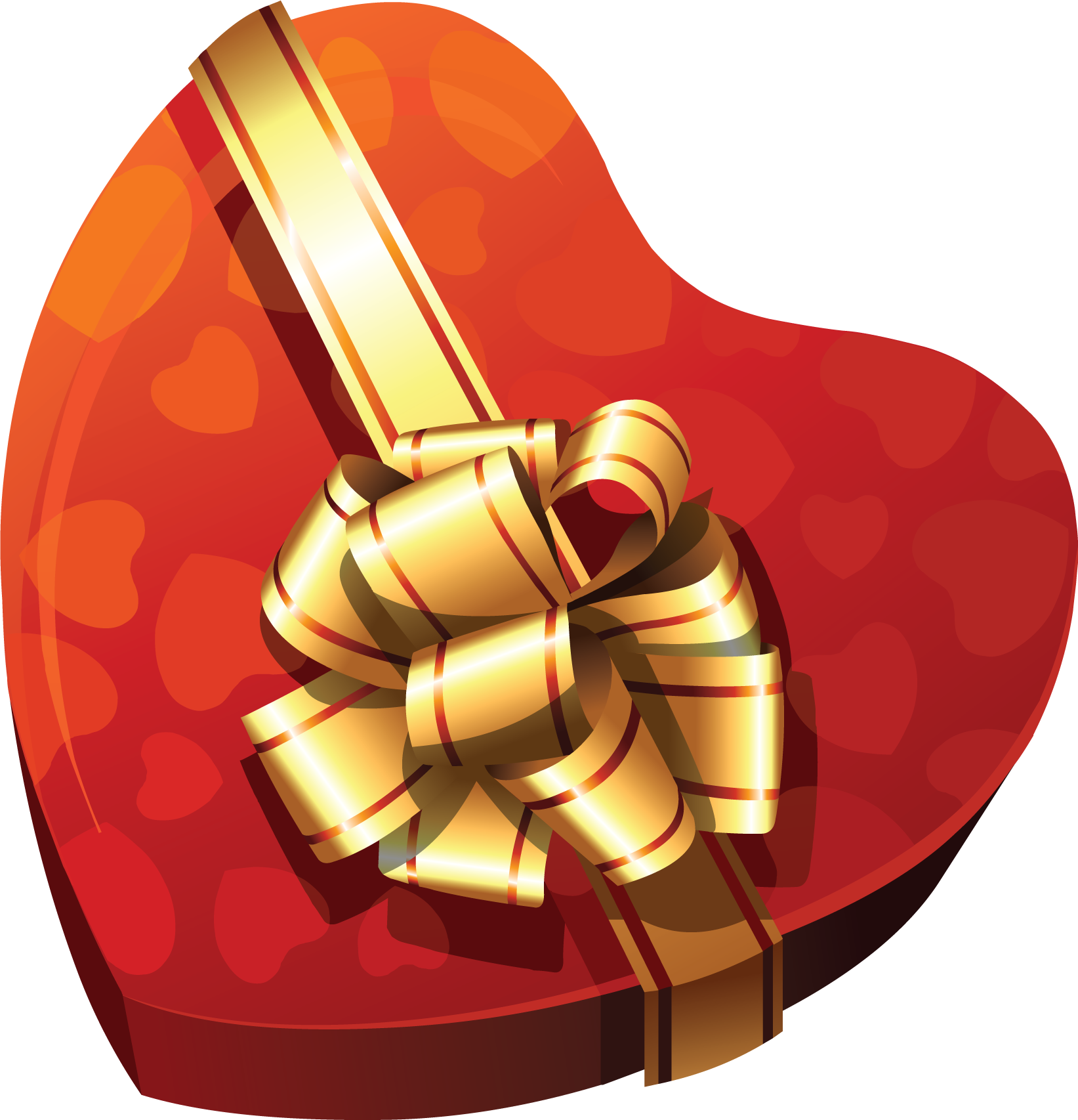 jpg library download Large heart gift gallery. Box clipart chocolates