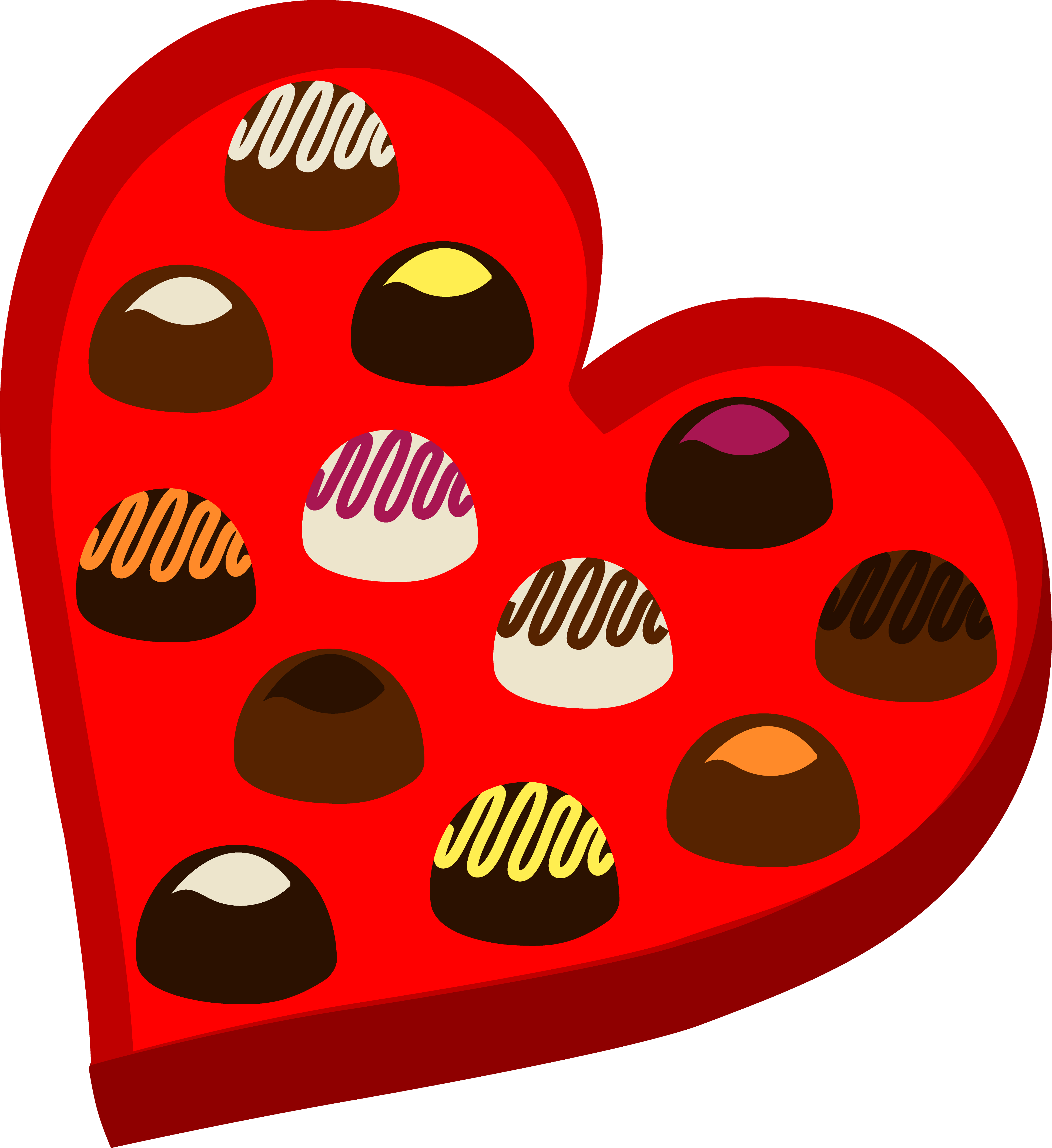clip art library download Valentine chocolate letters format. Box clipart chocolates