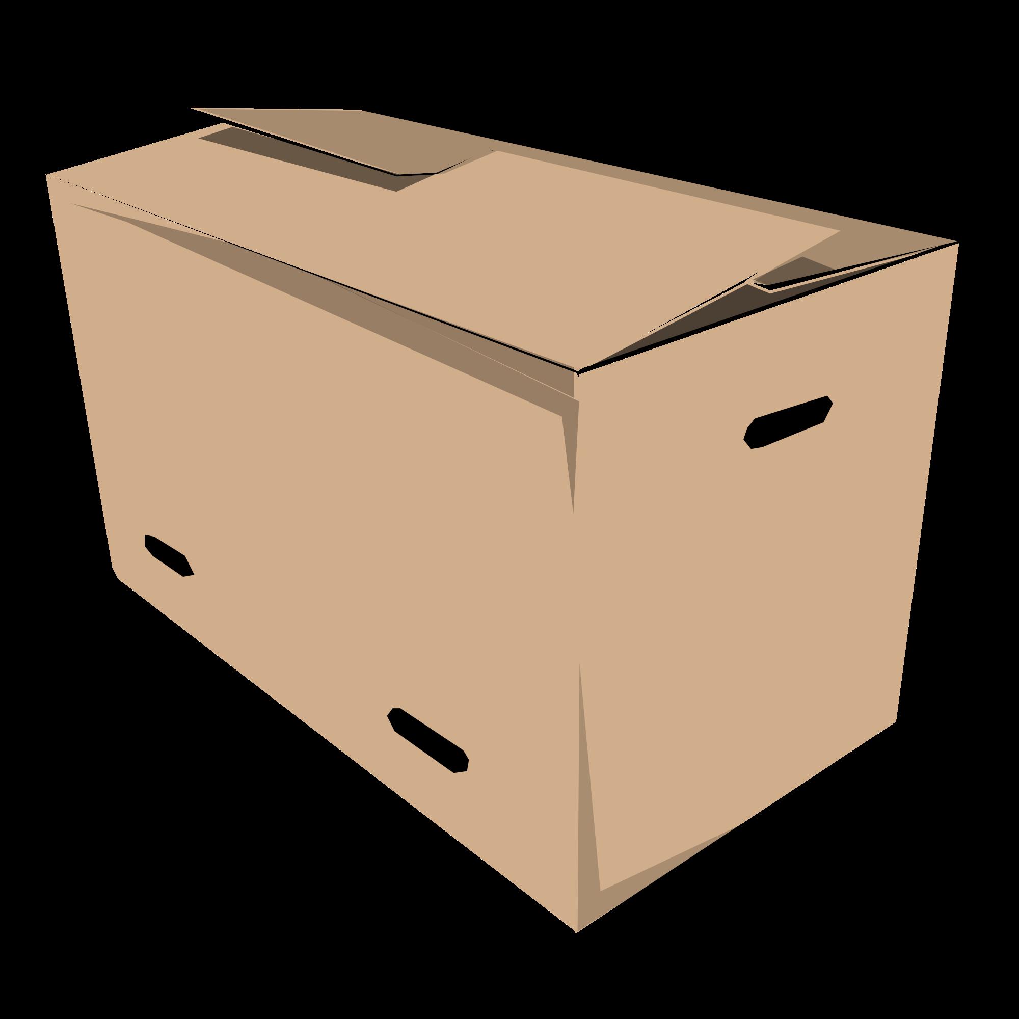 clipart black and white library File juliane krug svg. Box clipart closed box