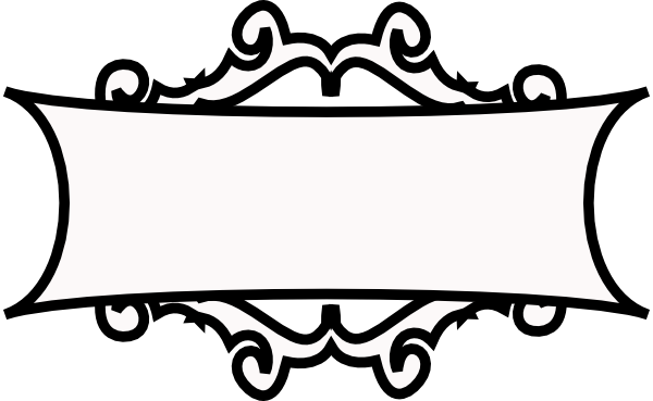 clip art black and white Text borders awesome clip. Box clipart decorative