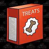 image free Abeka clip art treat. Boxes clipart dog
