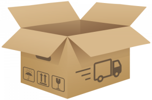 graphic freeuse stock Cardboard Box Clipart open cardboard box png clip art image best web