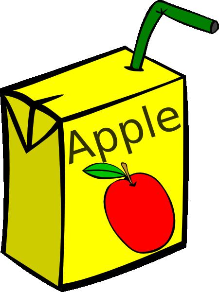 clip art free download Box clipart juice. Apple clip art at