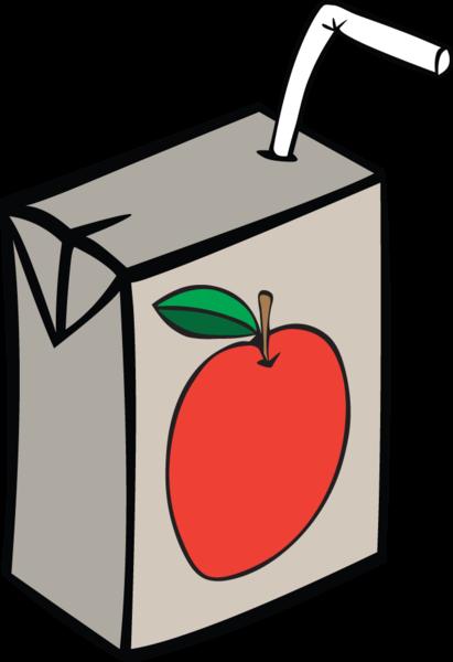 svg transparent stock Box clipart juice.  ra apple images