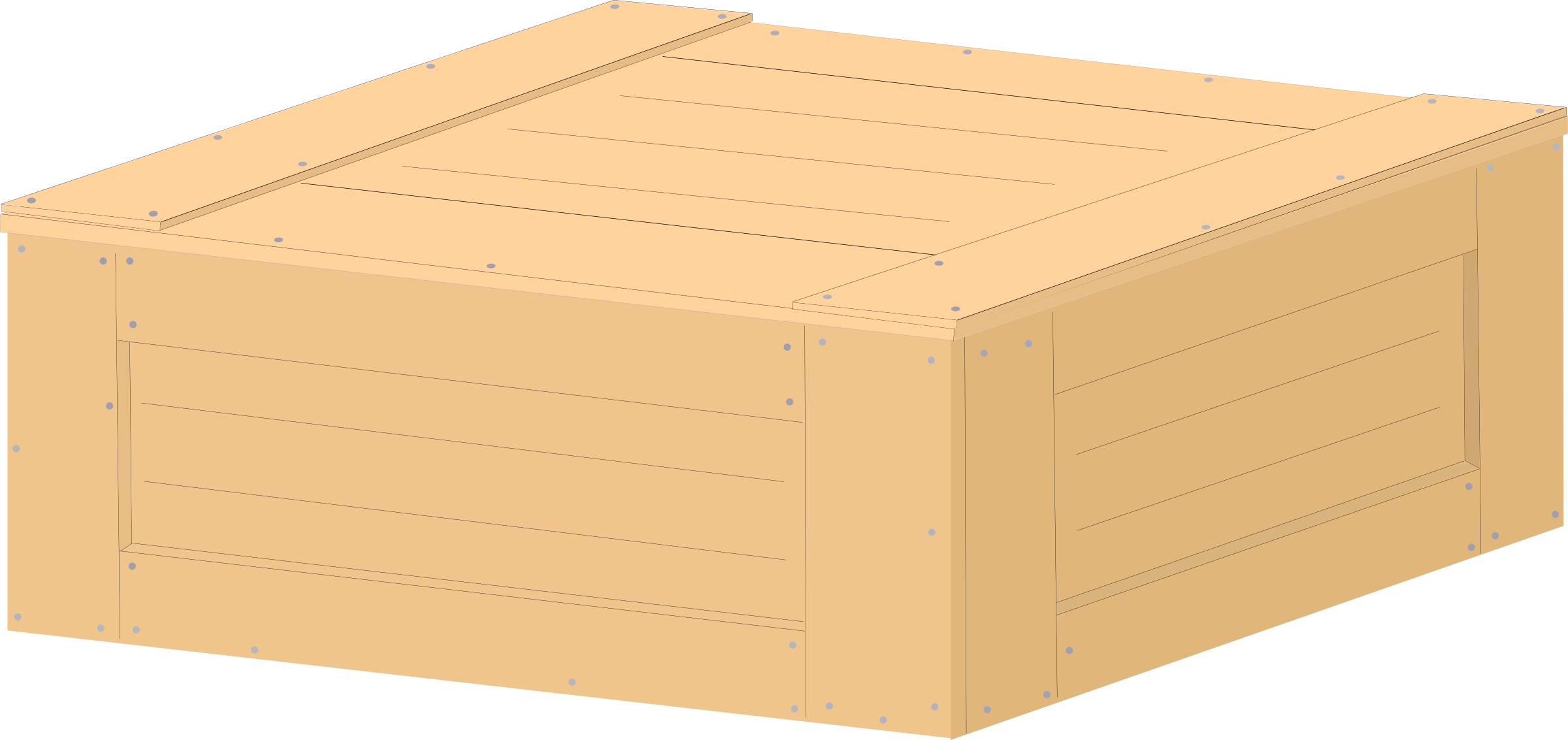 vector library download Box clipart wood box. Crate big image png