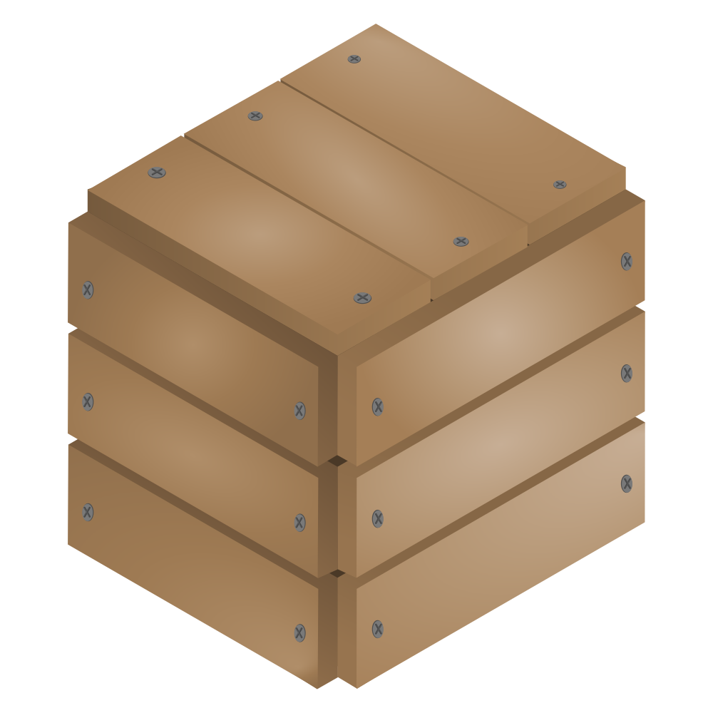 graphic free library Onlinelabels clip art. Box clipart wood box