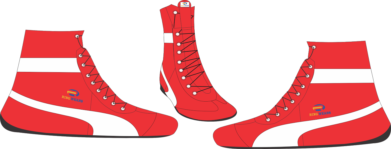 graphic royalty free library Boxer shoe free on. Boxing clipart boxing ring