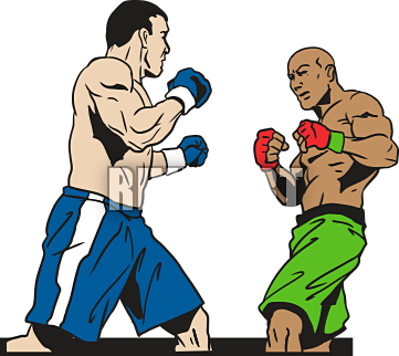 jpg library download Boxing clipart. Cilpart exclusive idea fancy