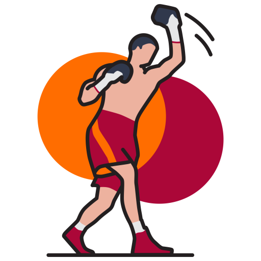 png royalty free library Boxer clipart boxing punch. Game sport olympic gloves.