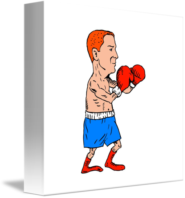 image Boxer clipart boxing stance. Fighting cartoon by aloysius