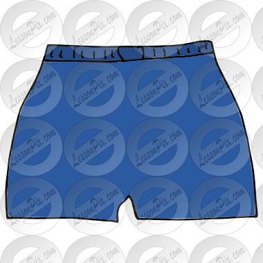 clip transparent download Picture for classroom therapy. Boxer clipart pair shorts