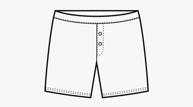 picture free download Boxer clipart pair shorts.  free clip art