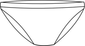 clipart royalty free library Panda free images underwearclipart. Boxer clipart underpants