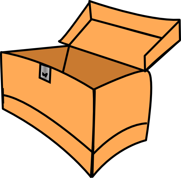 svg royalty free download Boxes clipart. Box panda free images