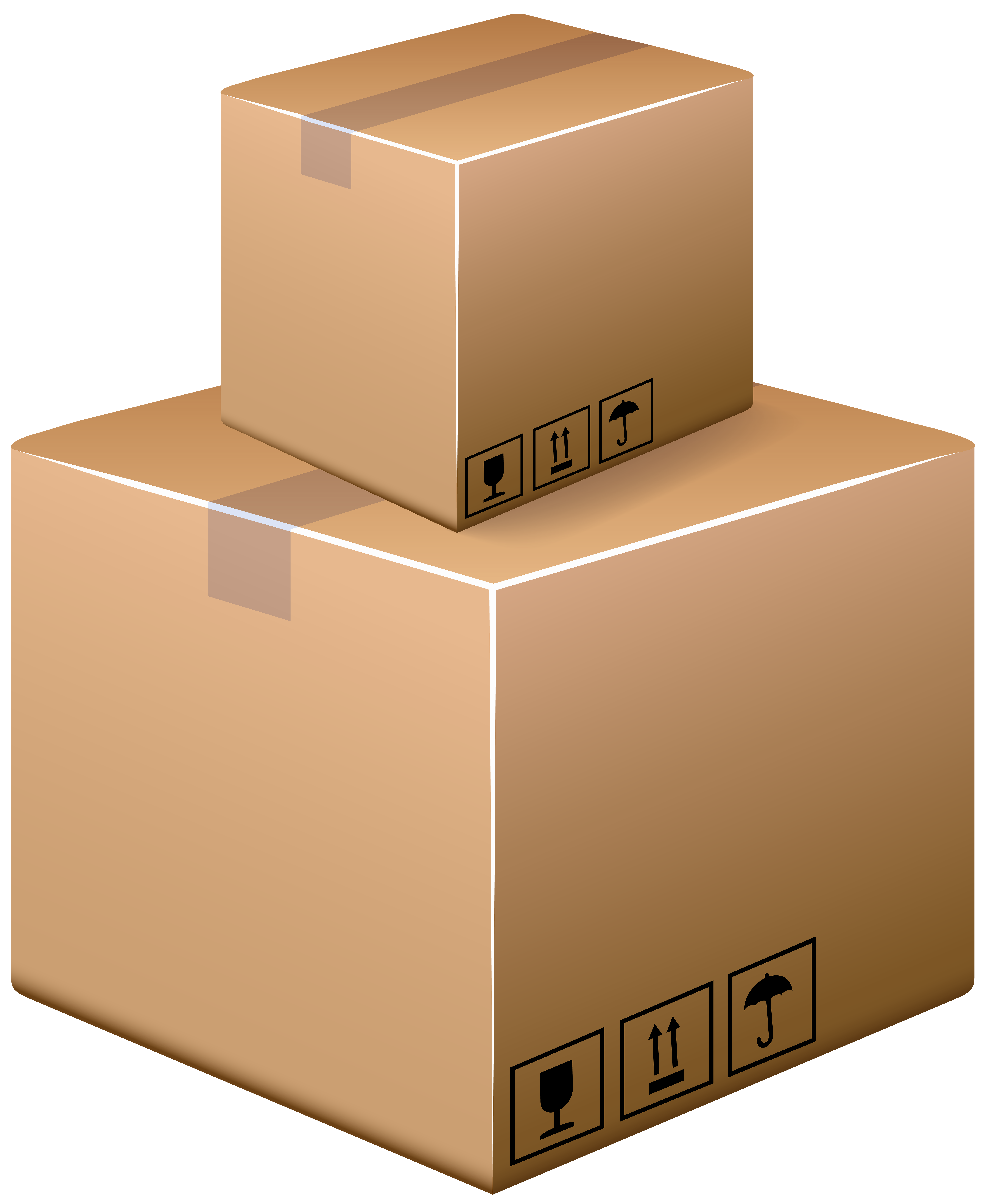 clip art black and white Boxes clipart. Cardboard png clip art