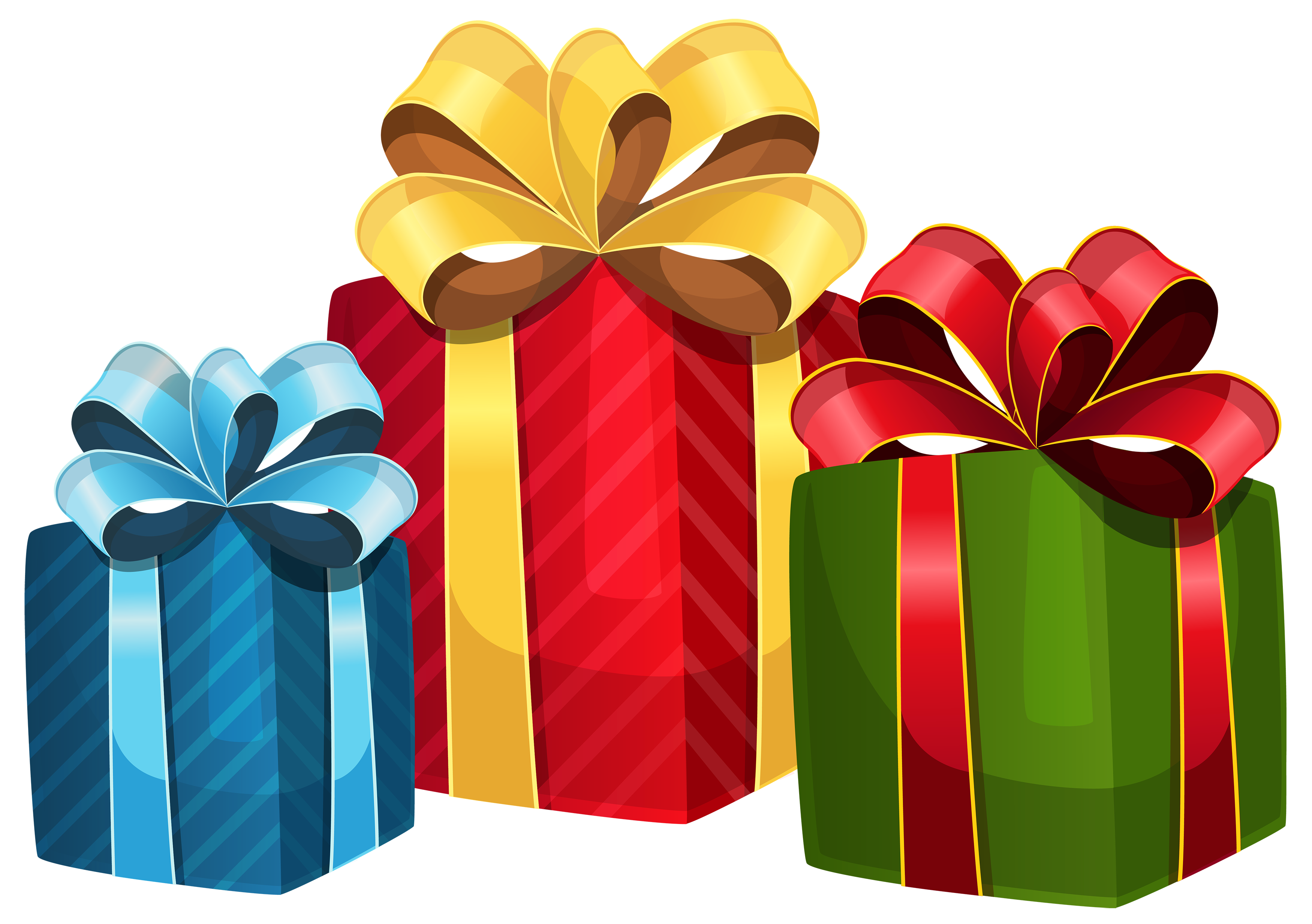 svg library Gifts clipart. Colorful gift boxes png.