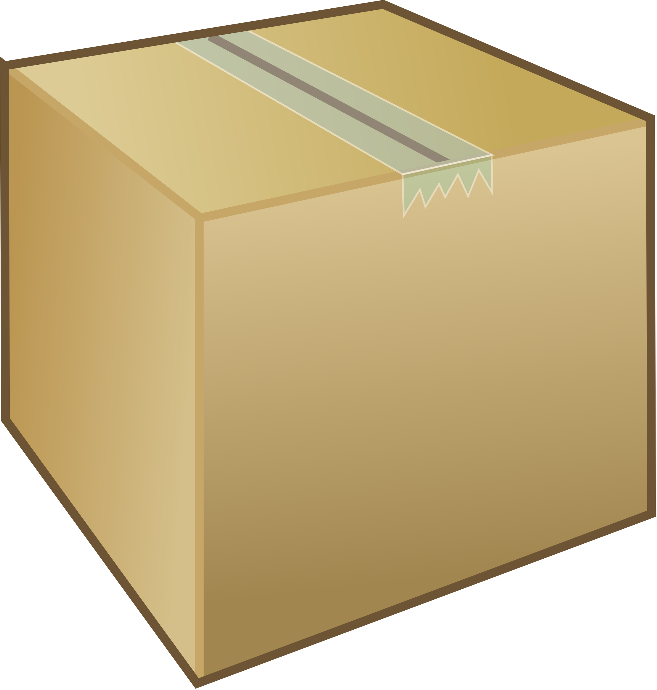 clip art library stock Cardboard box package big. Boxes clipart animated