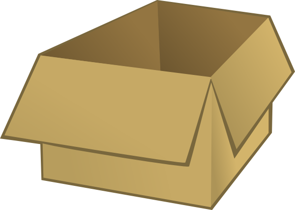 picture freeuse download Boxes clipart animated. Open box clip art