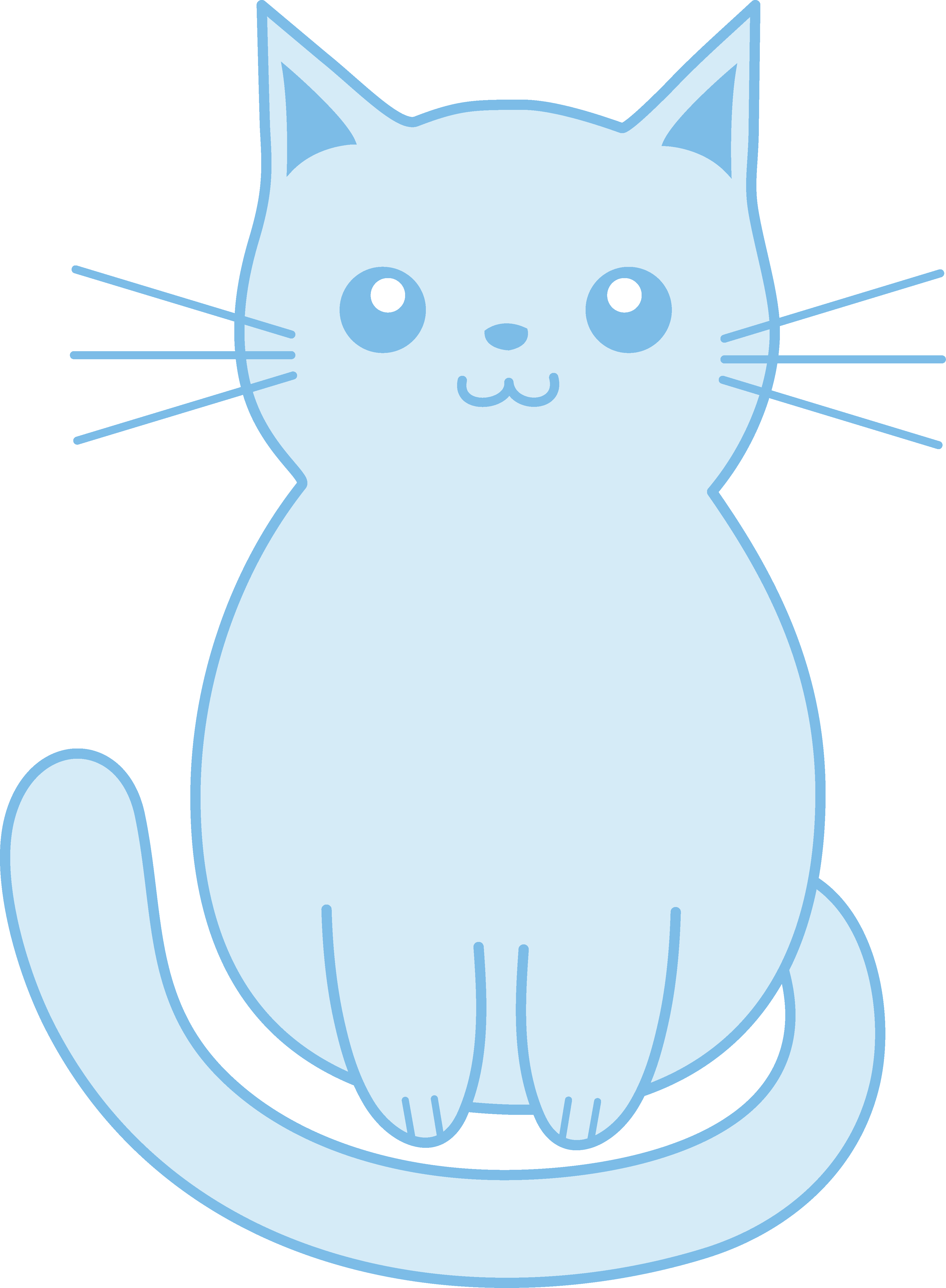 graphic freeuse stock Kittens clipart illustration. Box free on dumielauxepices.