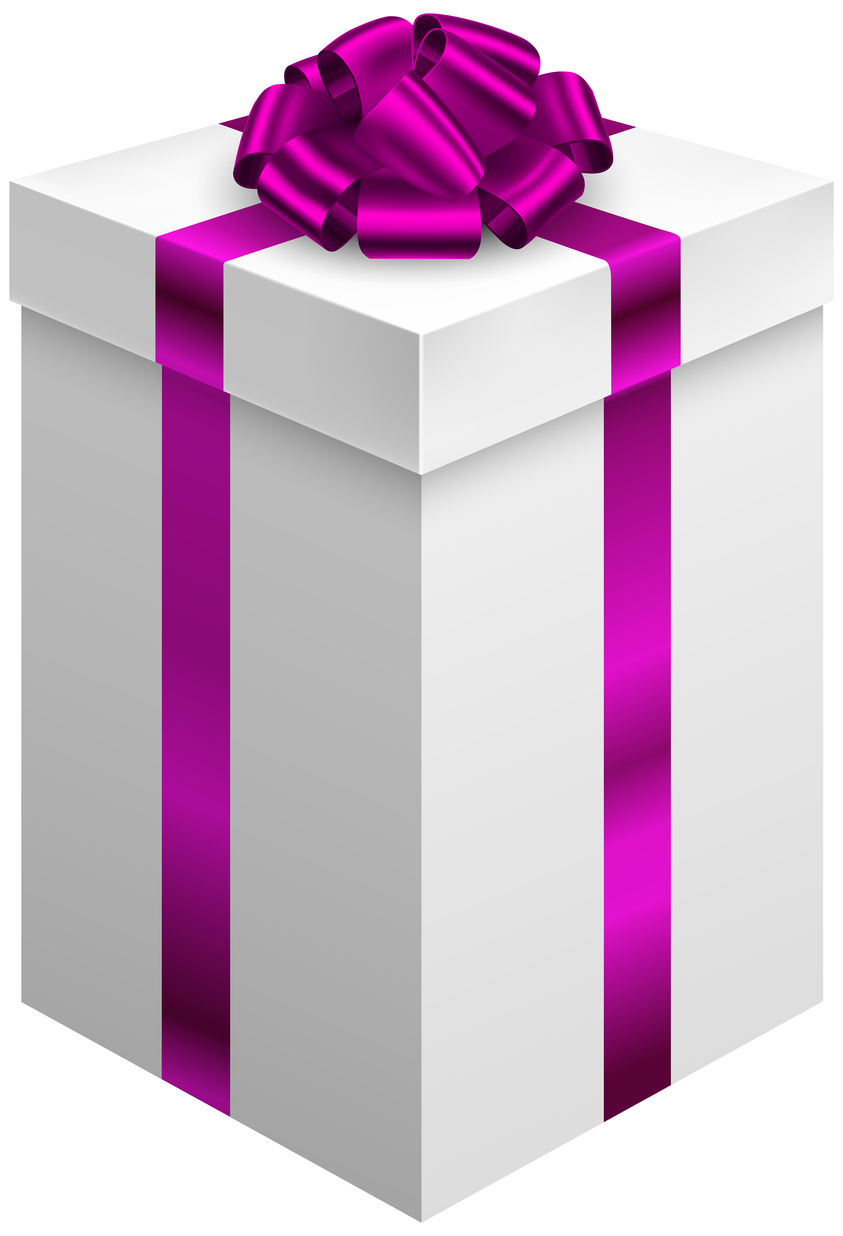 banner transparent Gift box with purple. Boxes clipart dog