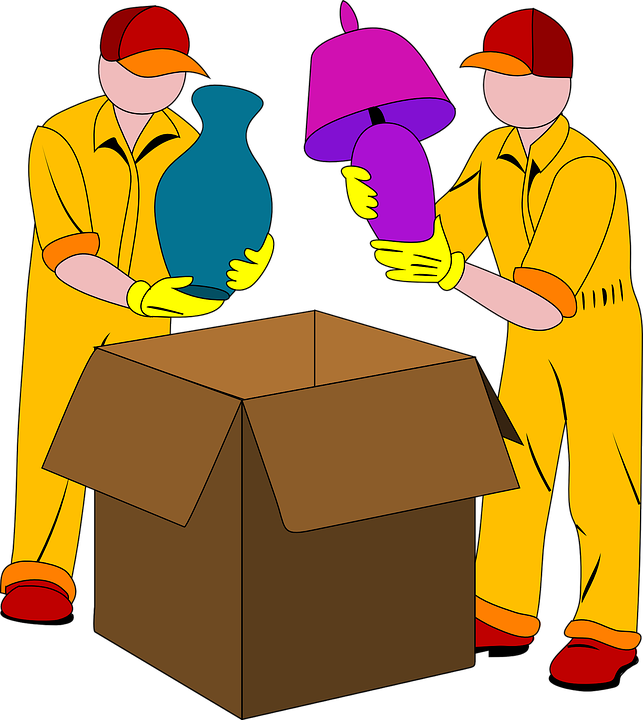 clipart freeuse library Storage box free on. Boxes clipart house move
