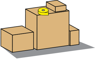 clipart freeuse library Boxes clipart house move. Storage box free on