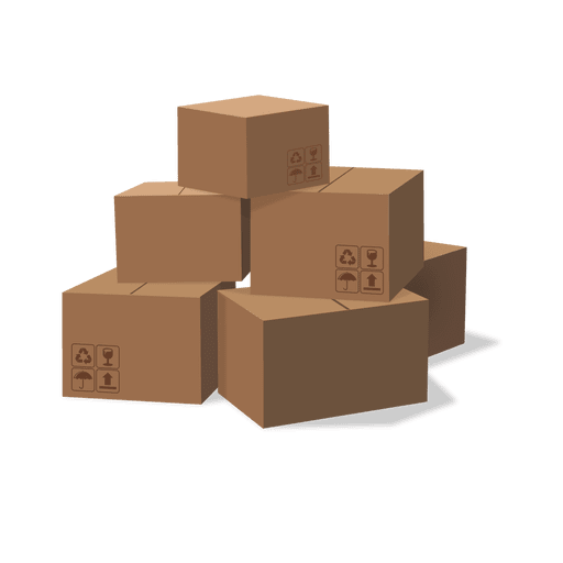 image freeuse Boxes clipart stacked box. Cardboard vector download stack