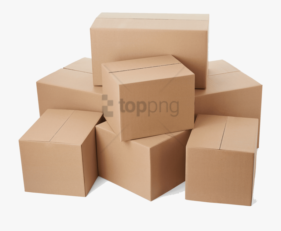 clipart royalty free stock Download corrugated moving clip. Boxes clipart stacked box