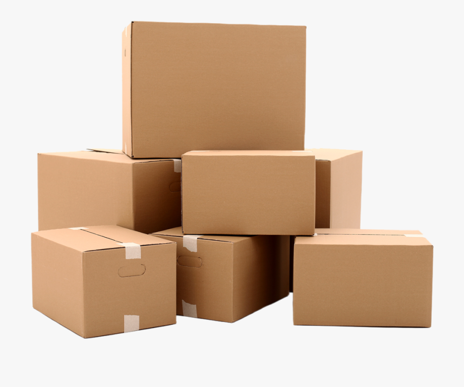download Boxes clipart stacked box. Cardboard isolated objects textures.