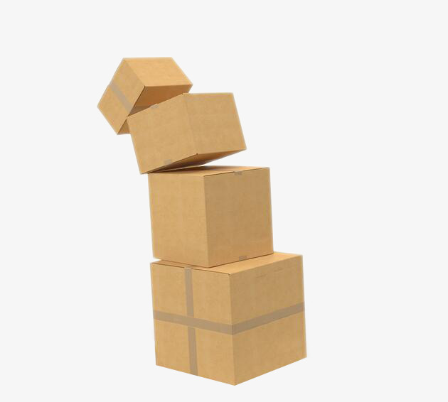 picture library Boxes clipart stacked box. Transparent