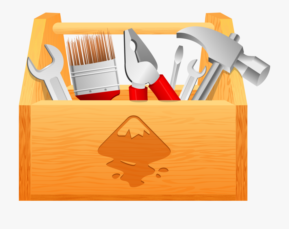 svg transparent stock Boxes clipart toolbox. Download wood tool box.
