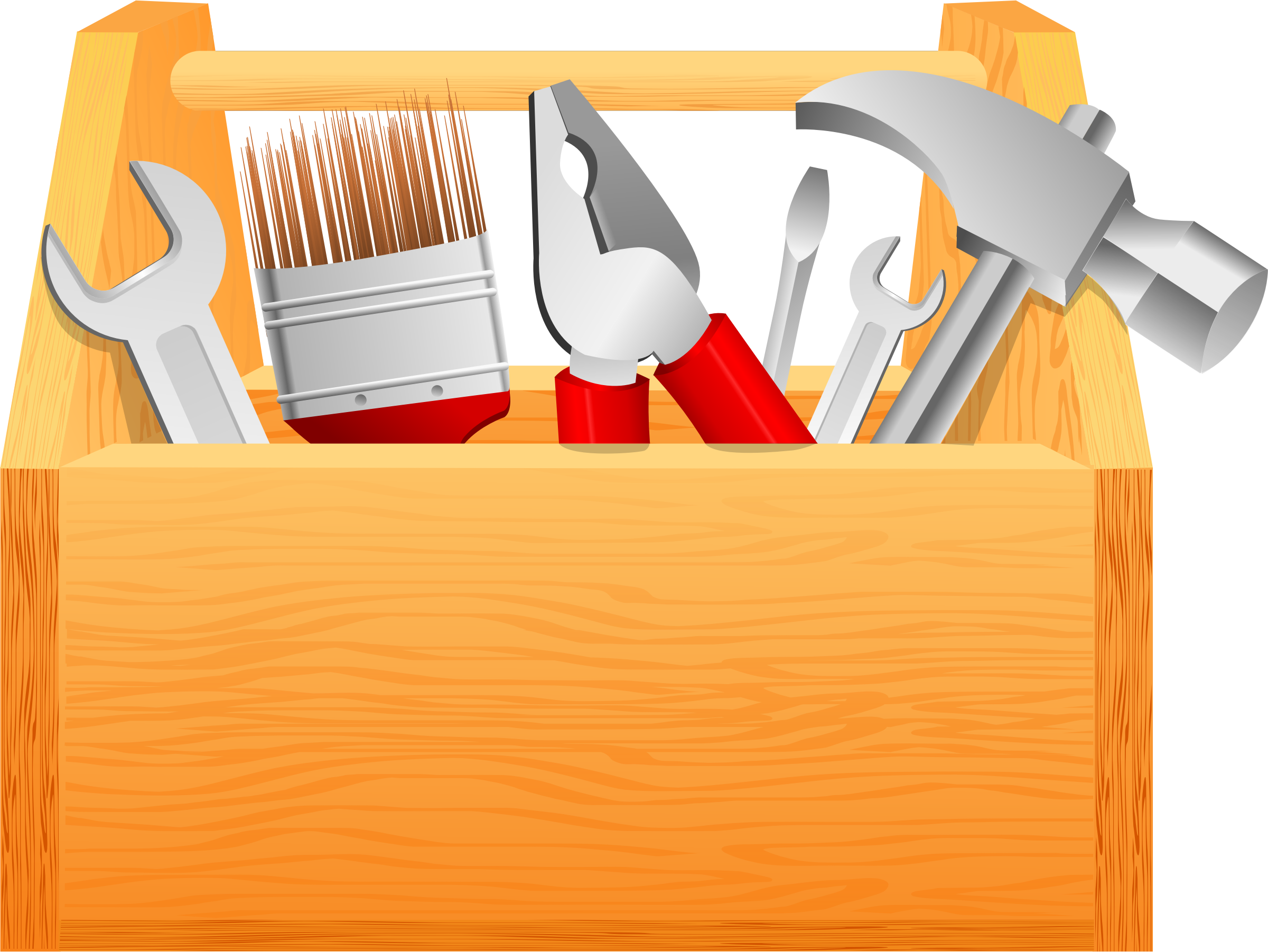 jpg library Boxes clipart toolbox. Simple tool box big.