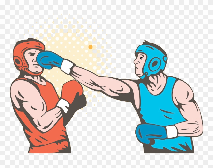 image Boxing clipart. Banner royalty free download.