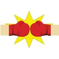 clip freeuse Boxing clipart bell. Download gloves free png.