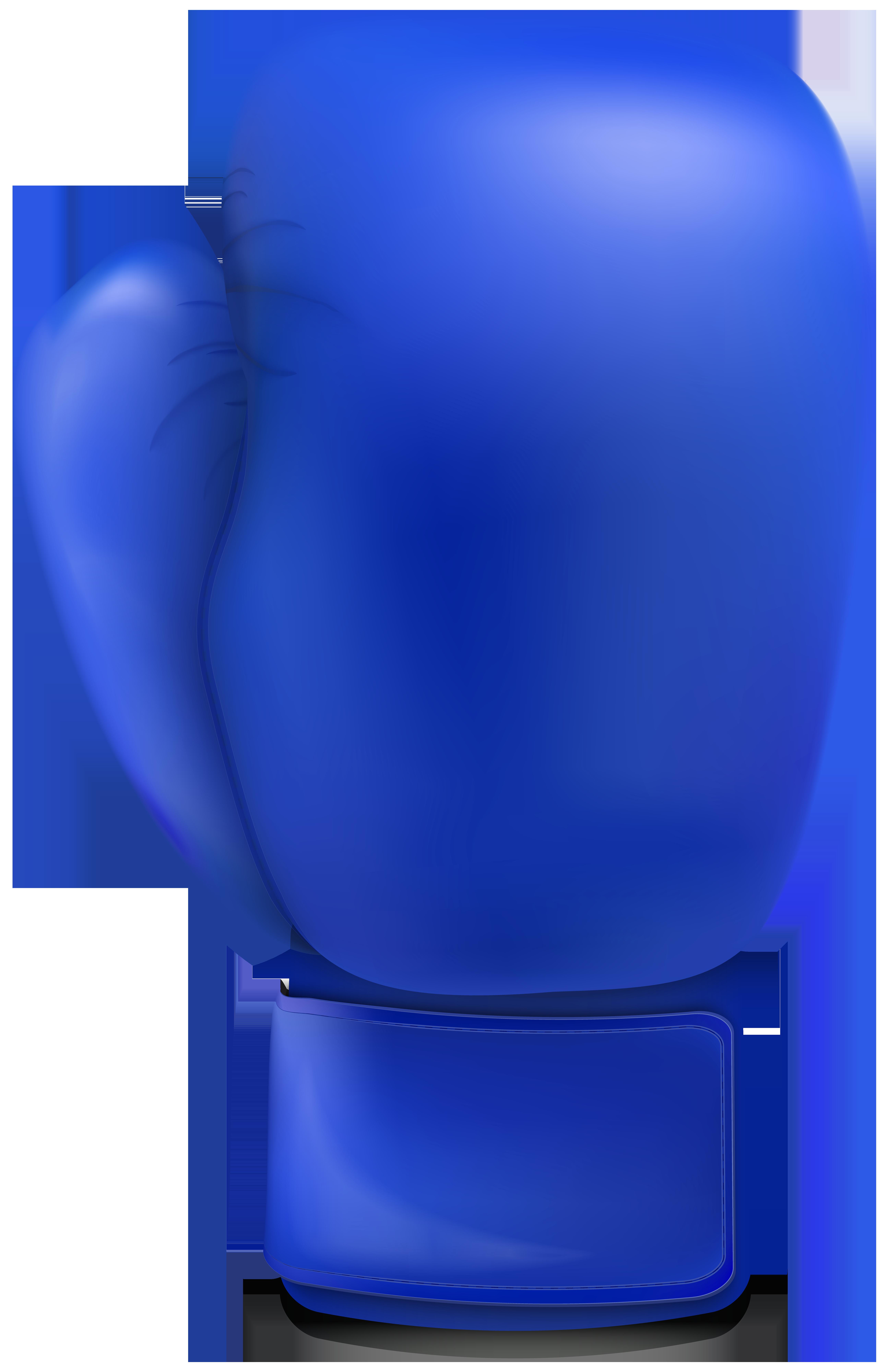 clipart transparent stock Boxing clipart blue. Glove clip art png