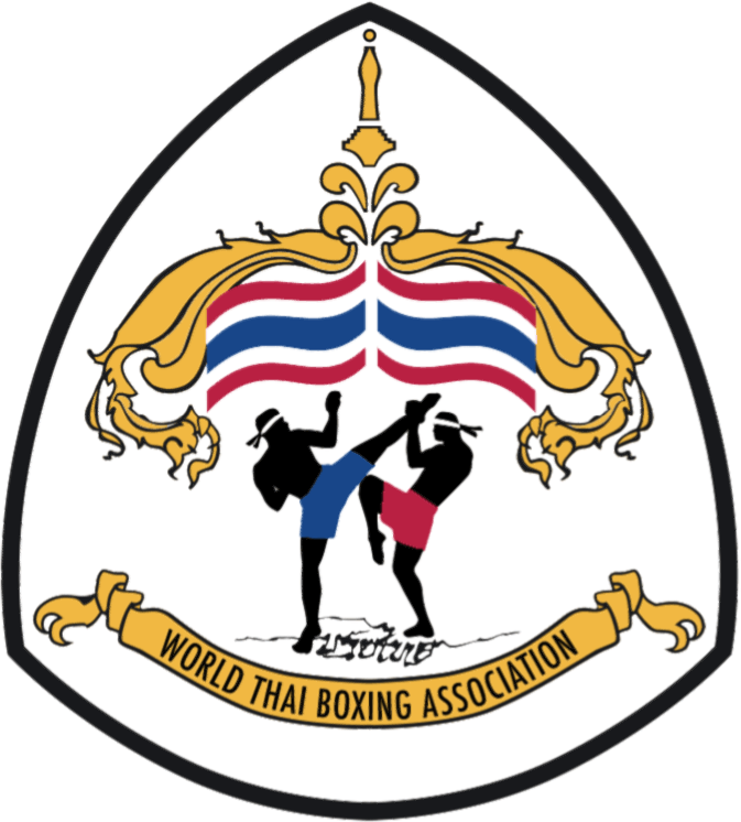svg Thai wtba sticky logo. Boxing clipart boxing belt