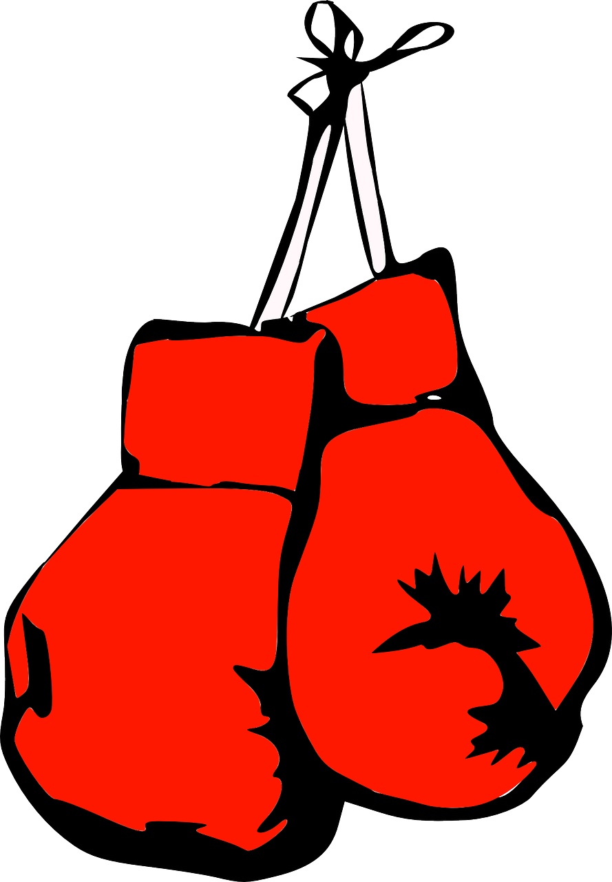 clip free The tale of a. Boxing clipart boxing winner