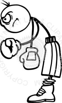 clipart transparent download boxing drawing cartoon #90782487
