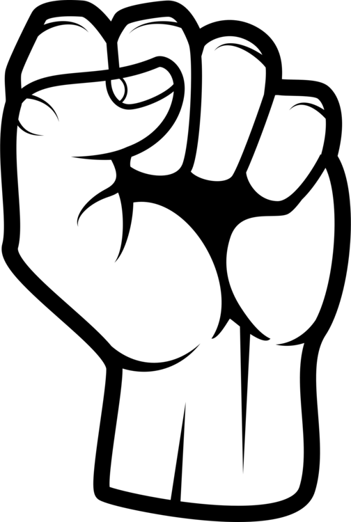 royalty free Raised fist Boxing Drawing Fist bump free commercial clipart